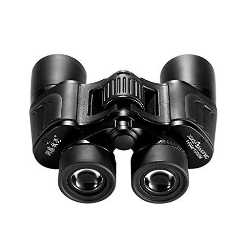 (Liutao Binoculars HD Night Vision Infrared Perspective Binoculars HD High Power Night Vision Non-Infrared Body Concert Glasses Large Eyepiece Binocular 20X50 Telescope Durable Binoculars)