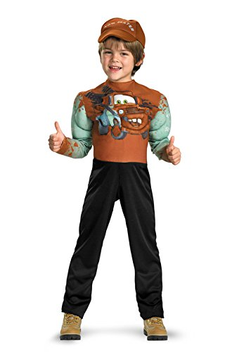 [Tow Mater Classic Muscle Costume - Small (4-6)] (Cars Movie Costumes)