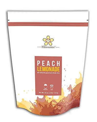 Peach Lemonade Drink Mix - 4 LB Bag
