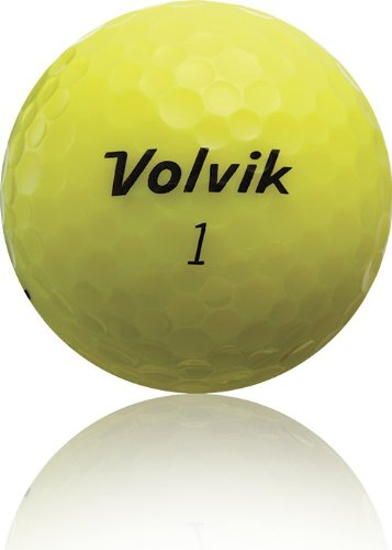 Volvik Crystal 3-piece Golf Balls – Pack of 12, Assorted Colors
