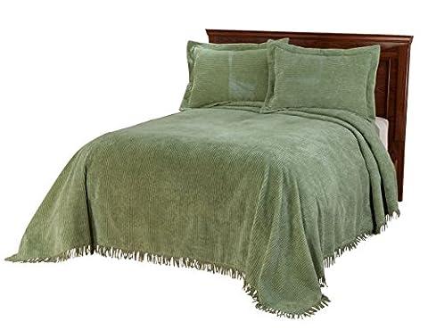 The Jane Chenille Bedding by OakRidgeTM - Sage Green Chenille