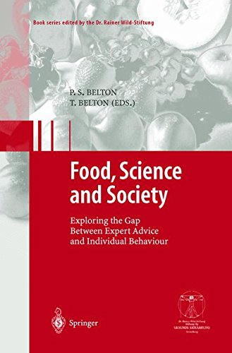 Food, Science and Society: Exploring the Gap Between Expert Advice and Individual Behaviour