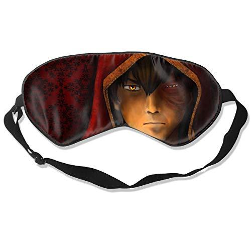 Double Sided Smooth Natural Silk Shading Avatar The Last Airbender Zuko Sleep Mask Eye Mask
