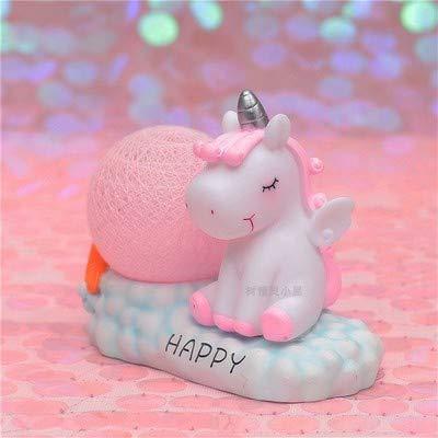 Fantasía Unicornio Noche Lámpara Adolescente Corazón Hogar ...