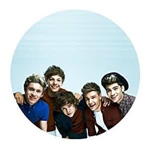 Custom One Direction Mouse Pad Gaming Round Mousepad CM-1481