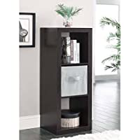 Durable Better Homes and Gardens 3-Cube Organizer, Espresso
