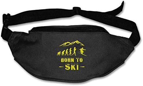 スキーエボリューションユニセックスアウトドアファニーパックバッグベルトバッグスポーツウエストパック
