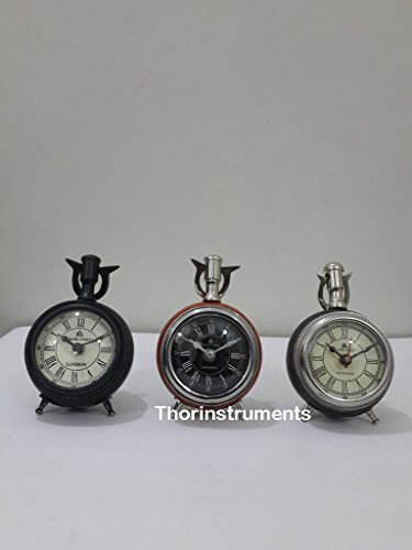 - THORINSTRUMENTS (with device) 49 Bond Street London Set Of 3 Piece Table Desk Clock