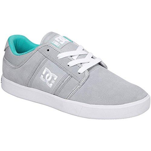 DC Men's RD Grand Skate Shoe, Grey/White, 9 M US - Dc Dyrdek Skate Shoes