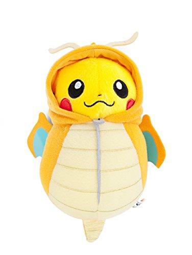 Banpresto Pokemon Plush Pikachu Nebukuro Dragonite 6.3''H...