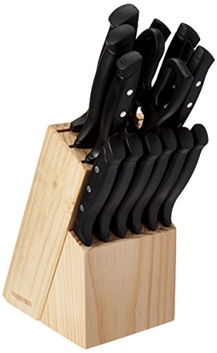 22 piece wave edge cutlery set - 1