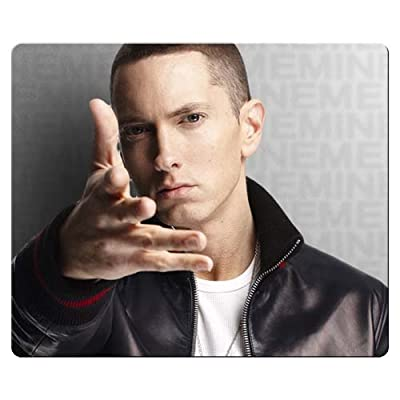 30x25cm 12x10inch Mousepad accurate cloth Environmental rubber Precise surface Custom Eminem