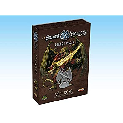 Sword and Sorcery: Volkor Hero Pack: Toys & Games