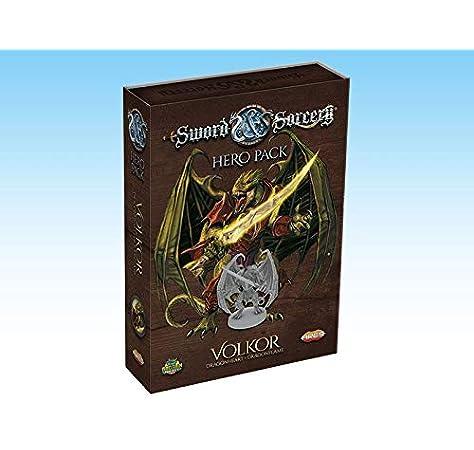 Ares Games Sword and Sorcery: Volkor Hero Pack: Amazon.es: Juguetes y juegos