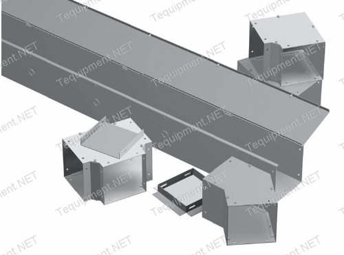 - Hammond Manufacturing CWTF6 TEE FITTING 6X6