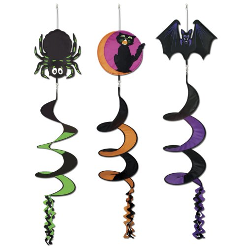 Classic Halloween Icon Wind-Spinners (asstd designs) Party Accessory  (1 count) (1/Pkg) ()