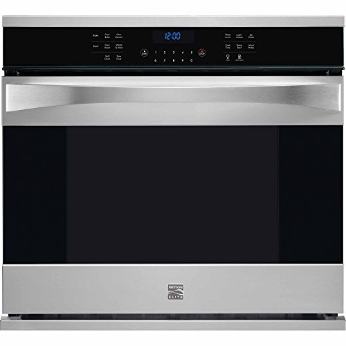 Kenmore Elite 48353 30″ Electric Single Wall Oven with True Convection in Stainless Steel, includes delivery and hookup (Available in select cities only)