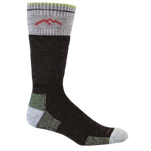 Darn Tough Vermont Merino Wool Boot Cushion SockLimeLarge