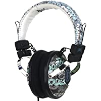 Marc Ecko The Exhibit On Ear Stereo Headphones with In-Line Microphone - Graffiti (Discontinued by Manufacturer)