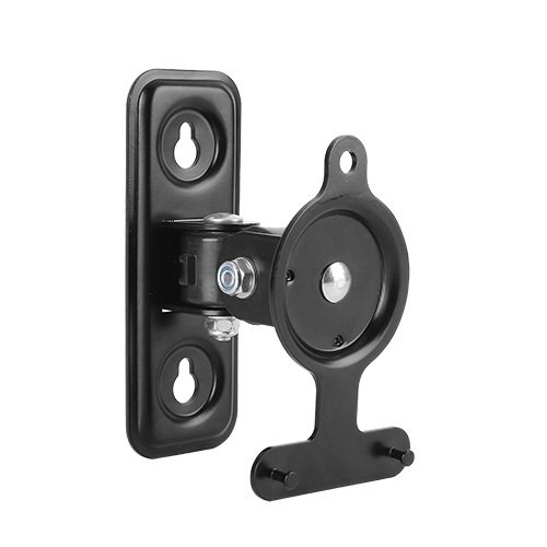 KRIËGER KM433 Steel Low Profile Adjustable Tilt, Swivel and Pivot Mechanism Speaker Wall Mount Bracket for SONOS PLAY:3 - Supports Speakers Up To 2.6kg/5.72 lbs.