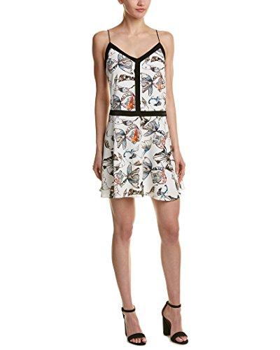 Unique Print Satin Dress - 7