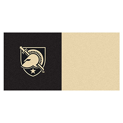 FANMATS 18243 NCAA U.S. Military Academy Team Carpet Tile by Fanmats
