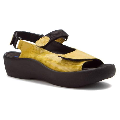 Snake Wolky Jewel Comfort Patent Yellow SqYwXx1wt