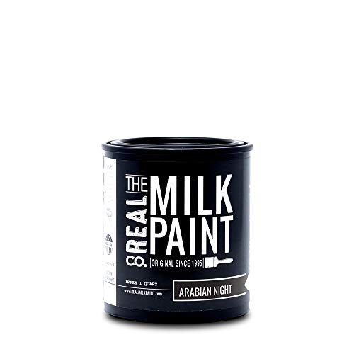 Arabian Milk Paint (Quart (32 oz), Black)