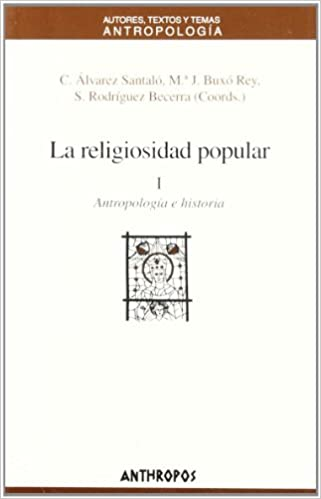 RELIGIOSIDAD POPULAR VOL 1, LA (Spanish Edition)