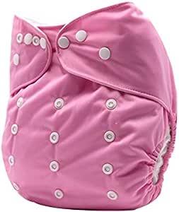 حفاض قماشي للأطفال قابل للتعديل والغسيل ومضاد للتسرب