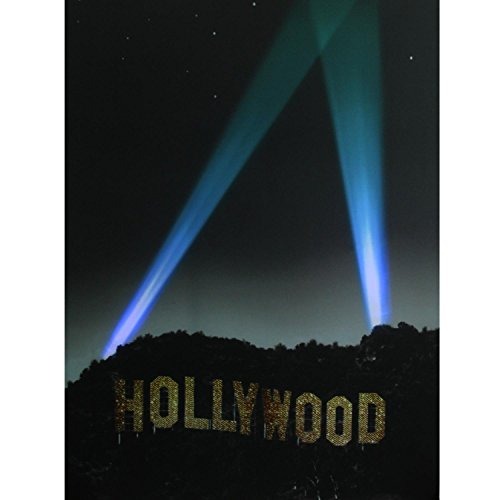 """Northlight LED Lighted Hollywood Sign with Spot Lights Canvas Wall Art 19.5"""" x 27.5"""" -  32255991"""