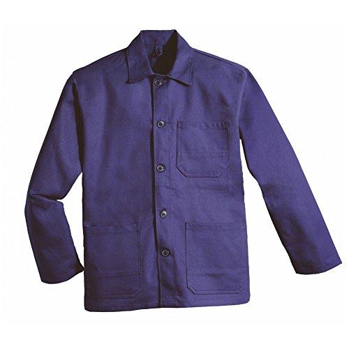 Willax Arbeitsjacke Baugewerbe Arbeitsbekleidung robust 100% Baumwolle Hydronblau Größe XL