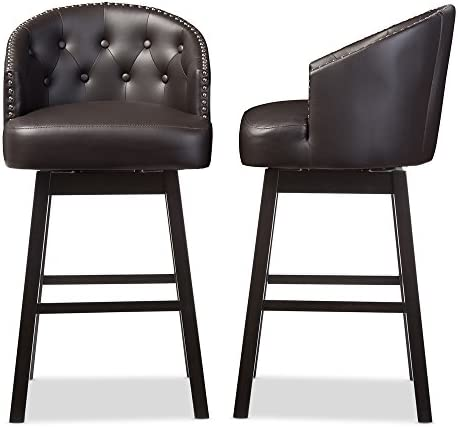 Baxton Studio Bar Stool 2-Piece Set