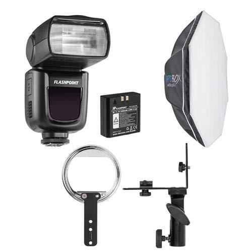 "Westcott Flashpoint Zoom Li-ion R2 TTL On-Camera Flash Speedlight for Nikon - Bundle with Rapid Box Switch Octa-S 26"" Switch Insert (Speedlite)"