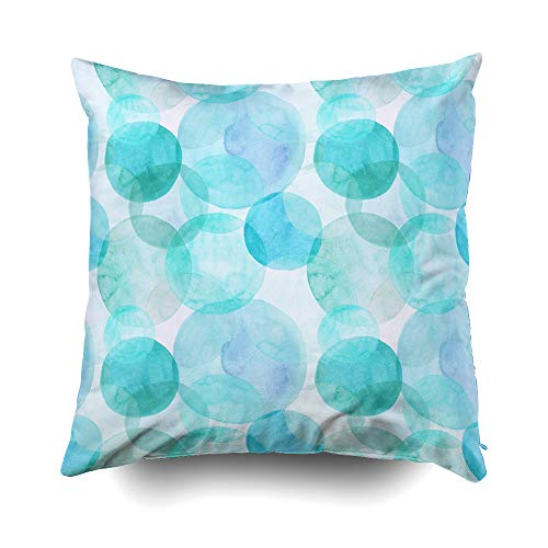 EMMTEEY Home Decor Throw Pillowcase for Sofa Cushion Cover,Halloween Abstract Beautiful Artistic Tender Decorative Square Accent Zippered and Double Sided Printing Pillow Case Covers 18X18Inch ()