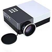 Multi-media GM50 Mini LED Projector HD LCD Home Cinema Theater TV Projector 19201080 3D Video Projectors with Keytone Correction Support Outdoor Camping Mobile Projector