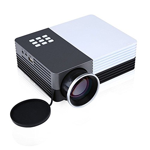 Multi-media GM50 Mini LED Projector HD LCD Home Cinema Theater TV Projector 19201080 3D Video Projectors with Keytone Correction Support Outdoor Camping Mobile Projector by Ansee