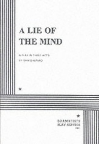 A Lie of the Mind by Sam Shepard (1998-01-03)