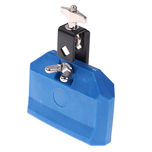Baoblaze Cow Bell ABS Plastic Cattlebell Cowbell Drum Percussion Musical Instrument Accessories - Blue