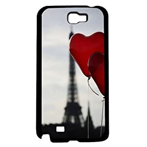 lintao diy Red Heart Balloons Hard Snap on Case (Galaxy Note 2 II)