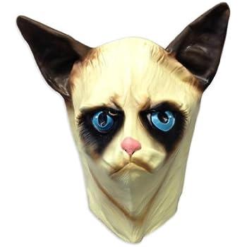 Amazon.com: Creepy Cat Mask - Funny Animal Masks - Off the