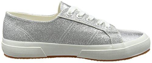 Silver 2750 Superga Mehrfarbig Damen Grey Microglittercotmetcoccow Sneaker FqPvn1U