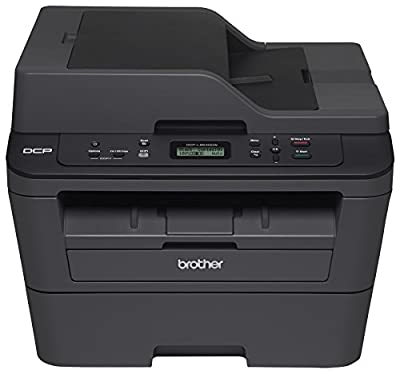 Brother DCPL2540DW Wireless Compact Laser Printer, Amazon Dash Replenishment Enabled