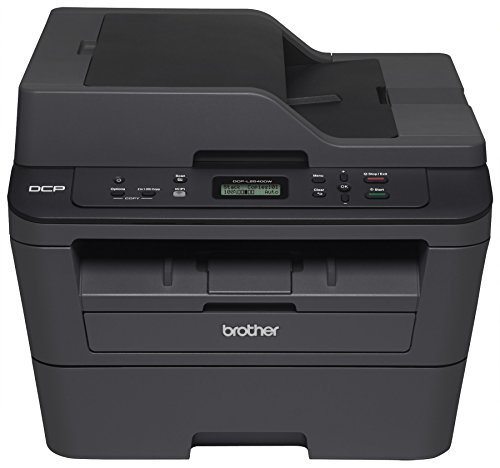 Brother DCPL2540DW Wireless Compact Laser Printer, Amazon Dash Replenishment Enabled by Brother