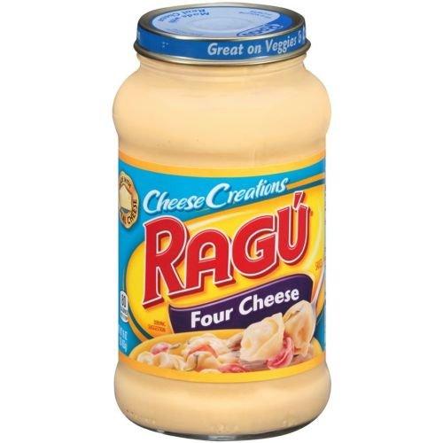 Ragu Cheese Creations Four Cheese Sauce, 16 Ounce - 12 per case. by Ragu