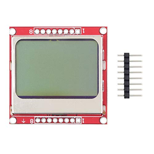 - Red & Green 8448 LCD Module Blue Backlight Adapter PCB for Nokia 5110