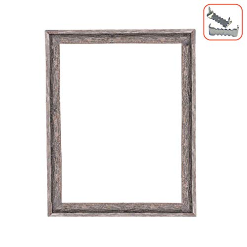 Floater Frame Picture Frame - BarnwoodUSA Rustic Farmhouse Open Signature Picture Frame - Our 16x20 Open Picture Frame can be Used for DIY Projects | Crafted from 100% Recycled and Reclaimed Wood | No Assembly Required
