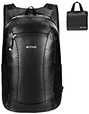 BESTKEE Ultra Lightweight Foldable Backpack Waterproof, Unisex Small Rucksack, Water Resistant Hiking Daypack for Travel & Outdoor Sports