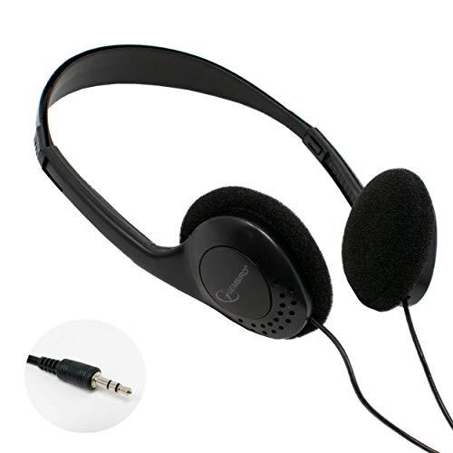 🥇 iChoose® – Auriculares estéreo con micrófono USB 3.0 de 3