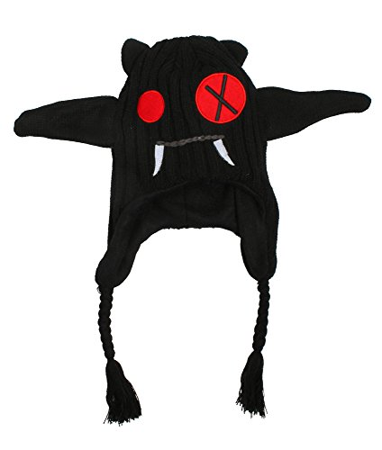 [AshopZ Plushy Stringy Animal Hats Covers Ears, Bat] (Super Troopers Bear Costumes)